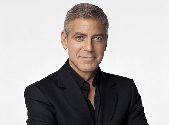 George Clooney to be Honored at Hollywood Film Festival's Awards Gala Ceremony.  (PRNewsFoto/Hollywood Film Festival) THIS CONTENT IS PROVIDED BY PRNewsfoto and is for EDITORIAL USE ONLY**
