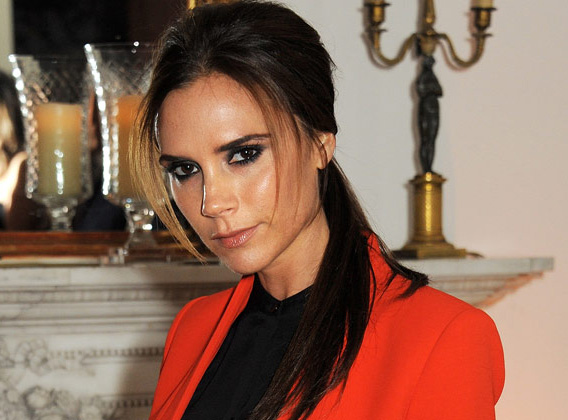 LONDON, ENGLAND - NOVEMBER 28:  (EMBARGOED FOR PUBLICATION IN UK TABLOID NEWSPAPERS UNTIL 48 HOURS AFTER CREATE DATE AND TIME. MANDATORY CREDIT PHOTO BY DAVE M. BENETT/GETTY IMAGES REQUIRED)  Victoria Beckham attends a dinner celebrating the launch of 'Valentino: Master Of Couture', the new exhibition showing at Somerset House from November 29, 2012 to March 3, 2013, at the Italian Embassy on November 28, 2012 in London, England.  (Photo by Dave M. Benett/Getty Images)